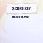 Maths SA KEY 1130 (01/14)