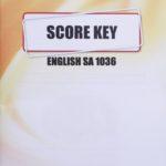 English SA KEY 1036 (03/15)