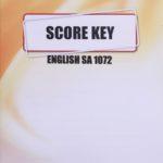 English SA KEY 1072  (08/15)