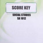 Social Studies SA KEY 1012 (10/17)