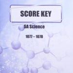 Science SA KEY 1077-1078 (04/15)