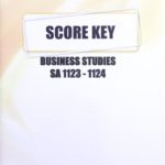 Business Studies SA KEY 1123-1124 (05/17)