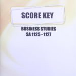 Business Studies SA KEY 1125-1127 (06/17)