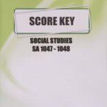 Social Studies SA KEY 1047-1048 (04/18)