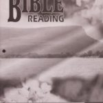Bible Reading KEY 1043 - 1045